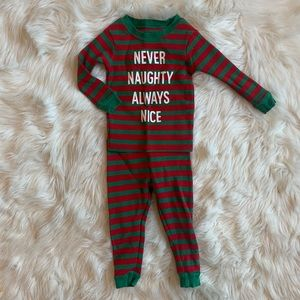 Baby or Toddler Boy Christmas Thermal Pajamas